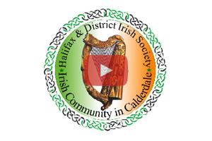 Halifax Irish Society video on Irish TV